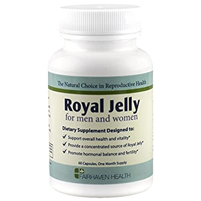 Fairhaven Health Royal Jelly for Fertility (1000mg, 60 Softgels)