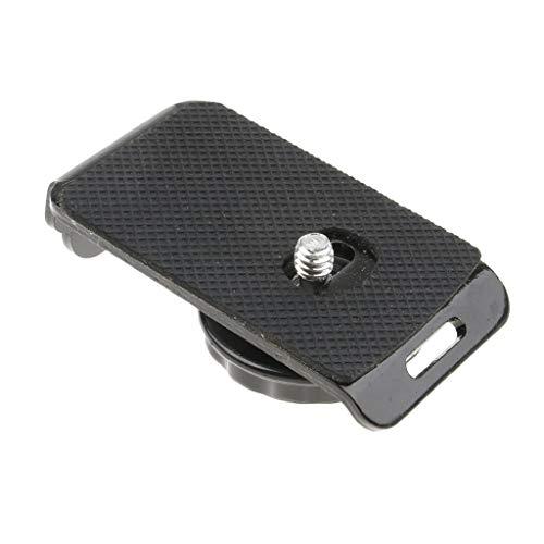 for Arca Swiss Tripod Ball Head Camera Hot Shoe Plate 1/4' Aluminum All