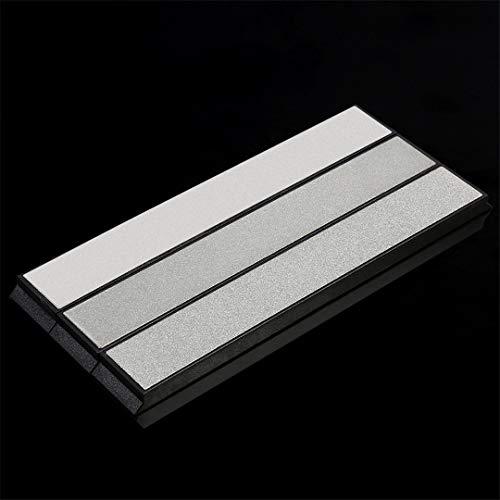 Juego de 3 piezas profesional afilador de cuchillos ángulo diamante afilado piedra amoladora piedras sistema de piedra de afilar cuchillos cuchillo de cocina