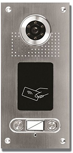 AE SAC562C-CKA(2) Farb-Videotürsprechanlage m. RFID 2 Fam