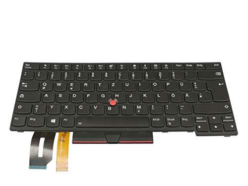 IPC-Computer Lenovo ThinkPad T480s (20L7/20L8) Original Tastatur DE (deutsch) schwarz/schwarz mit Backlight & Mouse-Stick