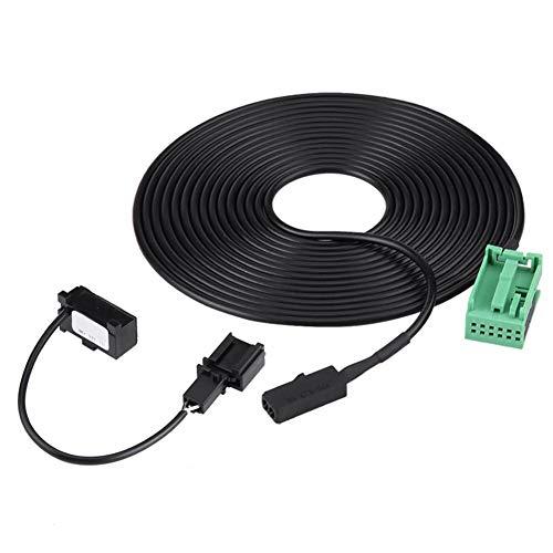 KSTE Bluetooth uitwringen en microfoon kit adapter kabelboom compatibel met RNS 315 Bluetooth 1J0 973 332