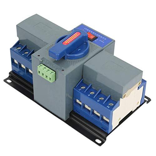 Interruptor de transferencia automática de doble potencia, interruptor de transferencia automática 4P de estructura simple, mini interruptor fácil de operar, para Power Mans