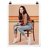 Bilderwelten Poster Jonas Loose Retro Mona Lisa