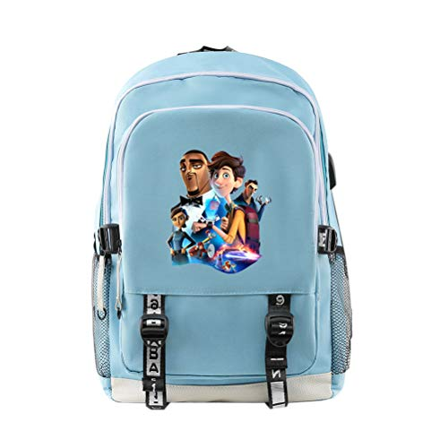 Spies in Disguise Casual Backpack Waterproof Schoolbag Large Capacity Daypack School Backsack for Boys and Girls for Boy and Girl (Color : A12, Size : 30 X 18 X 44cm)