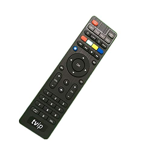 Ochoos - Telecomando originale TVIP per Tvip410 Tvip412 Tvip415 Tvip605 TvipS300, colore nero, OCH-6221A27E0B18F78C4E6AAA9243A8BF0B, Three Units