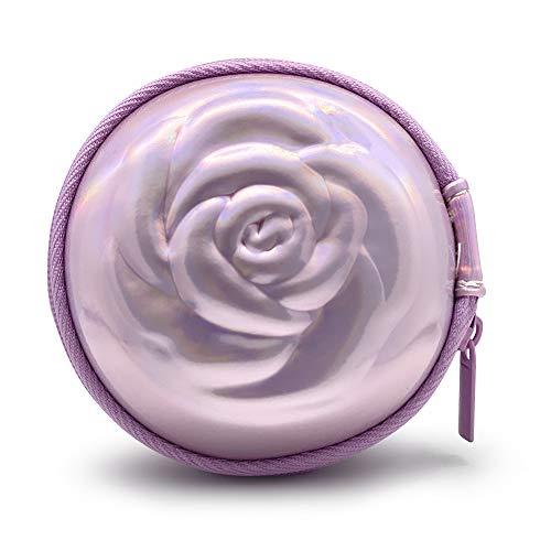 Sileu Case - Estuche para copas menstruales - Ideal para llevar tu tampón o copa menstrual de forma elegante y discreta en tu bolso o para viajes - Pequeño, 8 cm - Rosa Holográfico