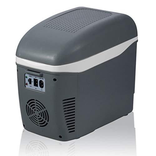 Mini Congelatore per Auto Freezer Bere Box Frigo per Frutta 7,5 L Minimo 3-5 ℃ Effetto Riscaldamento Fino A 65 ℃ Gray
