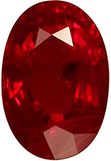 Ruby/Manik 9.25 Ratti Lab Certified Top Quality Natural Ruby Gemstone For Astrological Purpose By GEMS HUB
