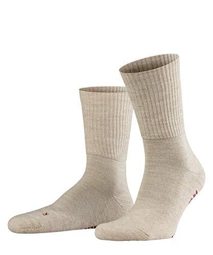 FALKE Unisex Socken, Walkie Light U SO-16486, Beige (Sand Melange 4490), 37-38