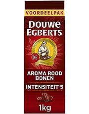 Douwe Egberts Koffiebonen Aroma Rood Voordeelverpakking (4 Kilogram, Intensiteit 05/09), 4 x 1000 Gram