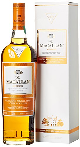 Macallan Amber Highland Single Malt Whisky (1 x 0.7 l)