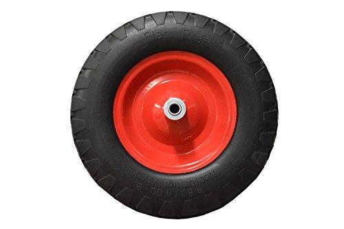 Replacement Wheel Barrow Tire Flat Free 4.80/4.0-8