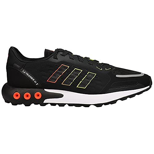 adidas crossfit sneakers adidas Mens La Trainer 3 Lace Up Sneakers Shoes Casual - Black