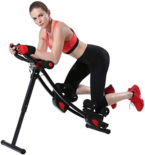 KESHWELL Ab Machine Core Abs Workout Equipment for Home Gym Waist Trainer for Women Men Height product image