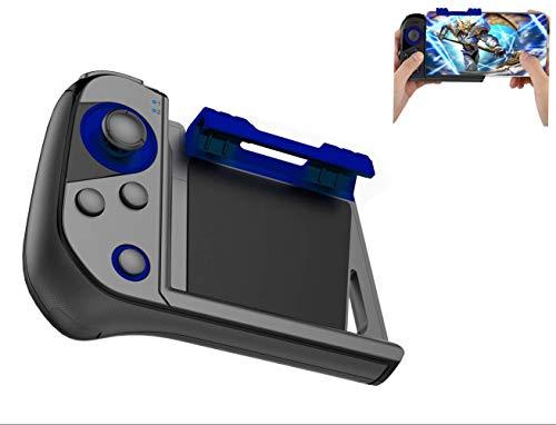 SUNSEATON PUBG Kabelloser Bluetooth Mobiler Game Controller, Kabelloser Einhand Controller, Mobiler Spiel Joystick, Spiel Trigger für iPhone und Android Smartphone