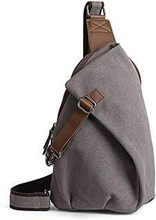 Men's Sling Backpack Canvas Crossbody Bag Casual Daypacks