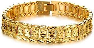 Charms Jewelry Watch Fashion Jewelry Plated 18K Gold Men Gold Bracelet Chain