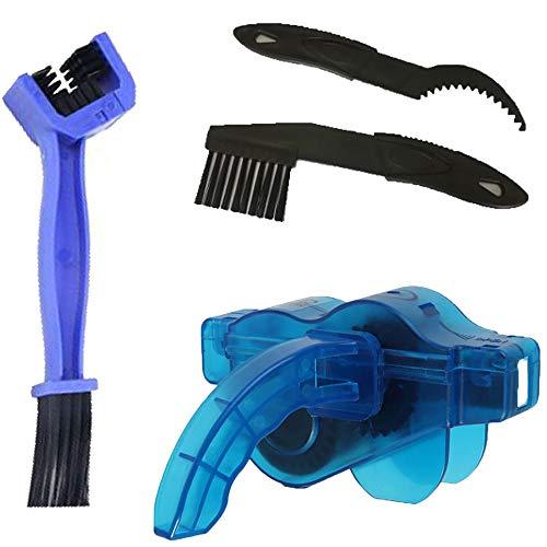 kuaetily Fahrrad-Kettenreiniger, Werkzeuge zur Reinigung von Fahrradketten,Mountainbike Rennrad Reinigung Ketten Bürste Scrubber Wash-Werkzeug