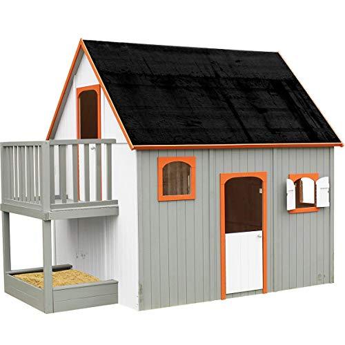 Soulet Cabane en Bois Haute sur pilotis pour Enfant - Duplex