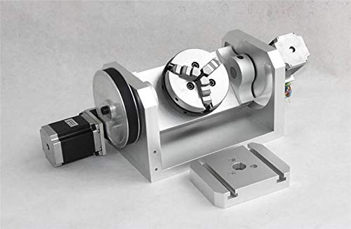 Fantastic Prices! GOWE CNC Dividing Head for K01 3 Jaw Chuck CNC Rotary Axis CNC Dividing Head 4th A...