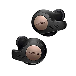 Jabra Elite Active 65t Earbuds - Passive Noise Cancelling Bluetooth Sport Earphones with Motion Sensors for Fitness Tracking - True Wireless Calls and Music - Copper Black. [Amazon Exclusive] (B07TSFGRXD) | Amazon price tracker / tracking, Amazon price history charts, Amazon price watches, Amazon price drop alerts
