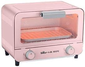 HSF Inicio Horno multifunción Horno eléctrico automático de la Torta de la hornada del Pan pequeño Mini Electrodomésticos Microondas con Horno y Grill (Color : Pink)