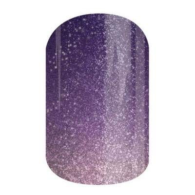 Jamberry Nail Wraps - Blair - Full Sheet - Plum Purple Sparkle Ombre - It Girls Collection