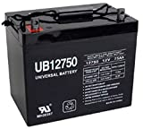 Universal Power Group UB12750 12V 75AH Battery Replacement for Schwinn S180 Electric Scooter