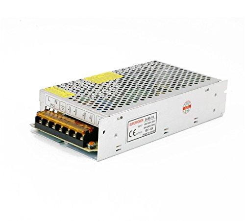 LianShi Universal Schaltnetzteil geregelter Transformator Kurzschluss und Überstromschutz AC100-260V DC18V 5A