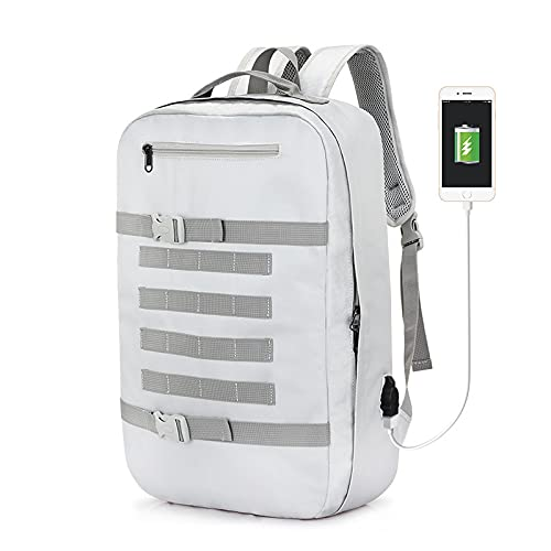 QIANJINGCQ Bolso de hombro de moda todo-fósforo casual al aire libre de gran capacidad bolsa de viaje estudiante de secundaria bolsa de escuela impermeable mochila multifuncional