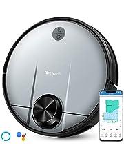 proscenic Robot Aspirador M6 Pro, función de Limpieza 3 en 1, con navegación láser, Control con Alexa y App, Potencia de succión 2600PA y Limpieza selectiva de un área