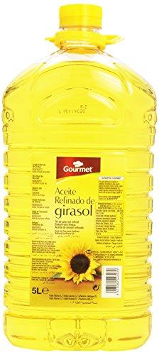 Gourmet - Aceite refinado de girasol - 5 l