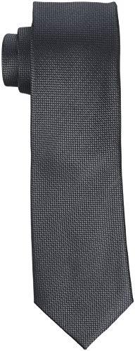SELECTED HOMME Herren SLHNEW TEXTURE TIE 7CM NOOS B Krawatte, Grau (Grey Grey), One Size