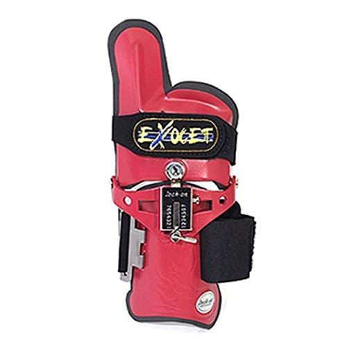 Happy bowling Exocet Cobra Type Bowling Handgelenkstütze Zubehör für rechte Hand (rot, S/M)