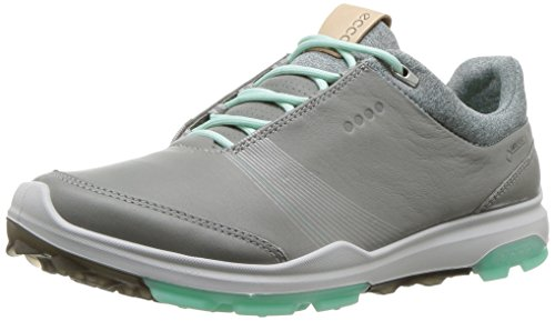 ECCO Mädchen Women Golf Biom Hybrid 3 Golfschuhe, Grau (Wild Dove/Emerald 50952), 35 EU