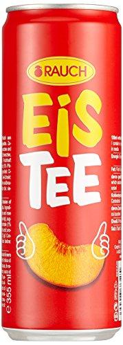 Rauch EisTee Pfirsich, 24er Pack (24 x 330 ml) (ohne Pfand, Lieferung nur nach Österreich)