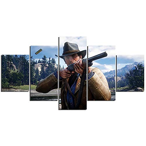 póster red dead redemption 2 fabricante HENANFSLY