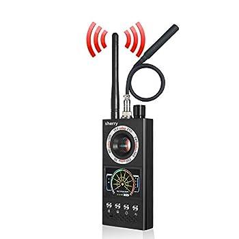 2021 Upgraded RF Bug Detector Anti Spy Detector for Wireless Hidden Spy Camera & GPS Tracker Bug Detector & Anti Camera Scanner RF Signal Detector for GPS Tracking Device