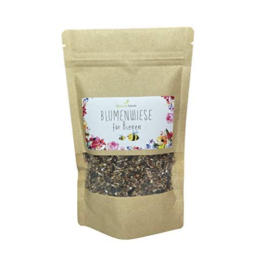 Bienen Blumenmischung 100 g Blumensamen Bienenwiese perfektes Saatgut für Bienen und Hummeln, Balkon und Garten