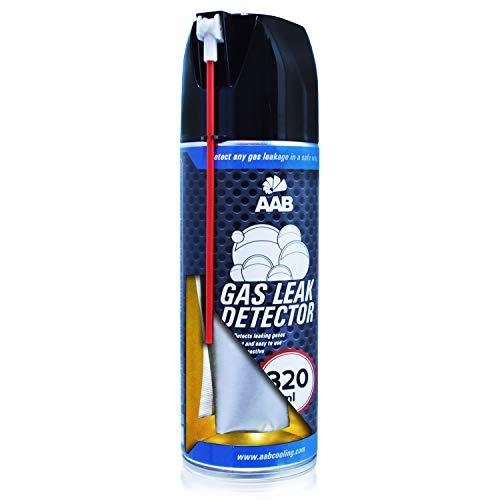 AABCOOLING Gas Leak Detector 320ml - Klimaanlage Auto, Gasleckspray, Klima Leckstopp, Lecksuche Spray, Auto Reifen Schlauch Lecksuch Spray