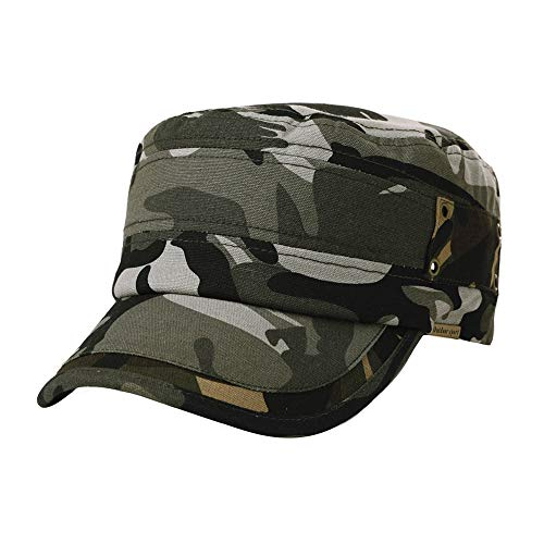 Army Blue Camo 100/% Cotton Unstructured Solid Low Profile Cap Double Color Baseball Hat