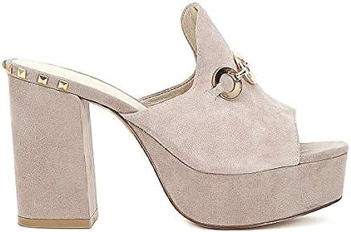 Cafeschwarz MF526 Sandalen mit Absatz Frauen Rosa Rosa Rosa 35  fabrik direkt