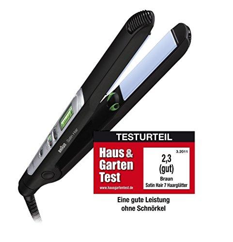 Braun Satin Hair 7ES2alisador de cabello/plancha para el pelo (Tecnología de iontec para obtener pelo)
