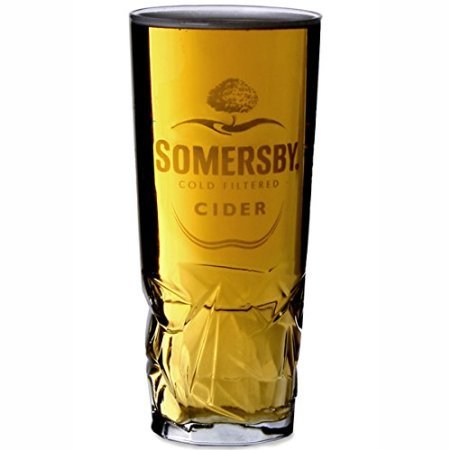 Somersby Sidra Cerveza Oficial de la Marca endurecido Vaso de Pinta