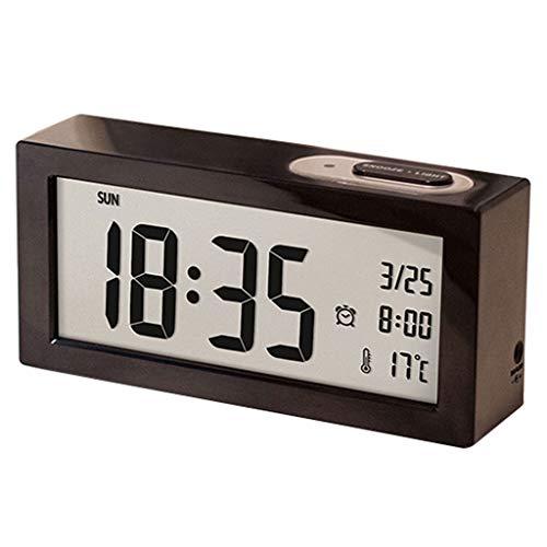 zxb-shop Reloj de Péndulo Reloj Despertador de Estudiante R