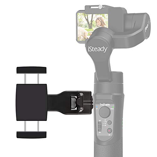 Hohem Smartphone Holder Mount Phone Clip for Gimbal Accessories for iSteady Pro/Pro 2, iSteady Mobile/Mobile Plus, iSteady Multi Gimbal Stabilizer with Universal 1/4'' Screw