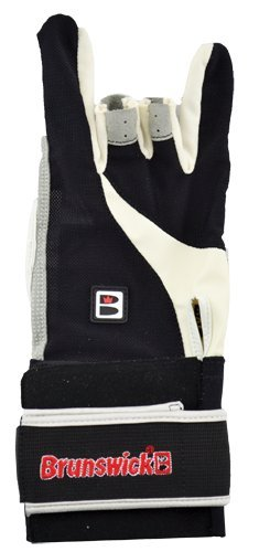 Brunswick Power XXX Glove Wrist Support, Handgelenkstütze Bowling schwarz schwarz XX-Large/Right Hand
