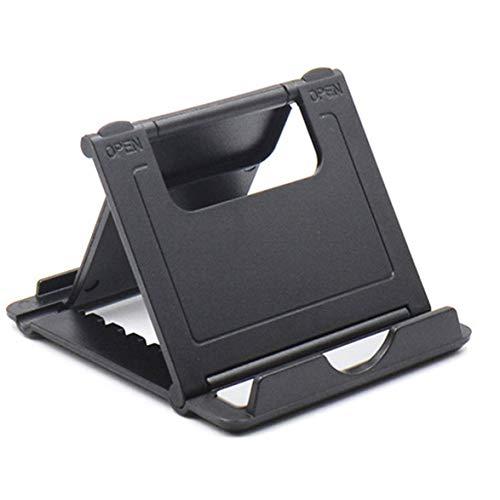 Sylvialuca Tragbarer Rutschfester Telefonständer Creative Foldable Desktop Holder Dock für Tablet-Handyständer