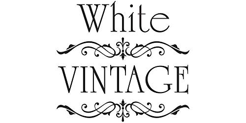 Möbeltattoo White Vintage Ornament Shabby Chic